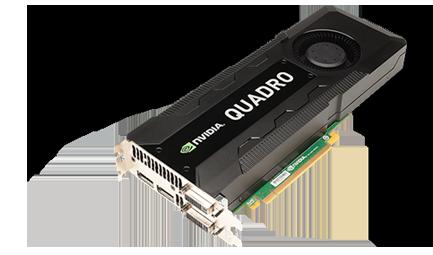 Quadro GPUs for desktop workstations