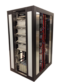 Hot-Water-cooled Eurora cluster with NVIDIA Tesla K20X at CINECA