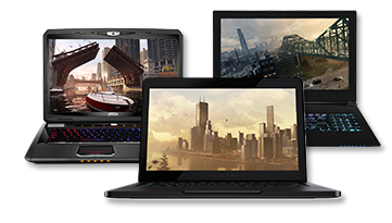 SERIOUS GAMING LAPTOPS HAVE ARRIVED