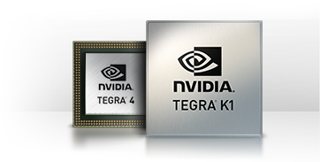 Tegra Mobile Processors power next generation gaming, media, and graphics.