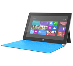 Microsoft Surface with Windows RT