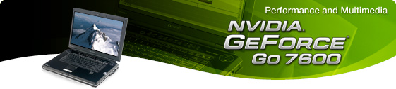 GeForce Go 7600 Header