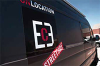 EC3 mobile facility to process digital dailies on location