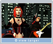 Evanescence's  'Everybody's Fool' music video is recreated using the actual game characters found in Majesco's forthcoming BloodRayne 2
