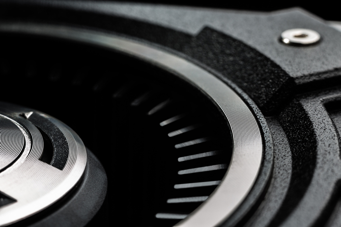 Fan close up on the GTX 780 graphics card